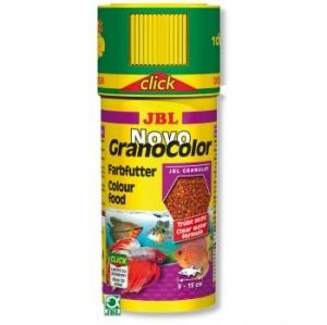 JBL - NovoGranoColor (Click) Храна за риби - опаковка 250 мл с дозатор