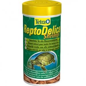 Tetra ReptoDelica Shrimps Деликатес за водни костенурки със скариди 250 мл.