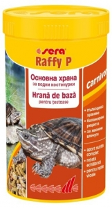 Sera Raffy P Гранулирана храна за костенурки и гущери - 10000 мл. 1