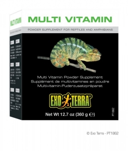 Exo Terra Мулти Витамини на прах - Multi Vitamin Powder Supplement 360g 1