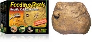 Exo Terra Декоративна хранилка - Feeding Rock 1