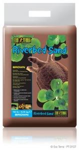 Exo Terra Дънен пясък за терариум - кафяв 4.5 кг. 1