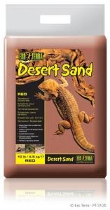 Exo Terra Дънен пясък за терариум - червен 4.5 кг.