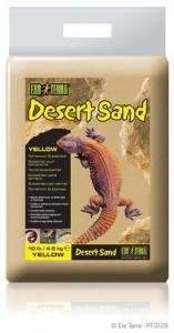 Exo Terra Дънен пясък за терариум - жълт 4.5 кг.