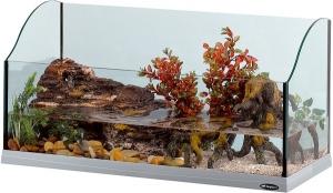 Ferplast - Jamaica 80 Аквариум за костенурки - опаковка 1 брой 1