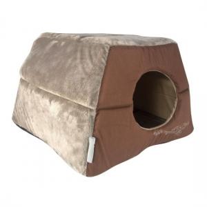 Rogz Igloo Podz- иглу за кучета и котки - кафяво 1