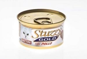 Stuzzy Gold Пастет с пилешко месо с морков на кубчета, 0.085 кг.