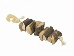 Nobby Knabber Holzkette Натурална играчка за гризачи - 25 см. / 5 см.