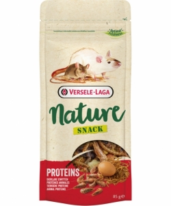 Versele Laga Snack Proteins - вкусно лакомство с животински протеини за порчета, мишки, хамстери, 85 гр. 1