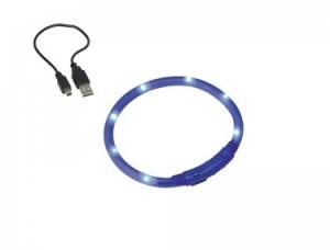 Nobby LED Lichtschlauch VISIBLE Светещ нашийник с USB зареждане - 40 см.
