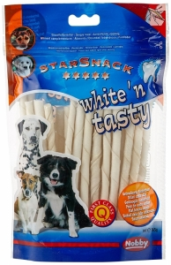 Nobby StarSnak White Tasty Деликатесно лакомство за висока устна хигиена за кучета - 30 бр.