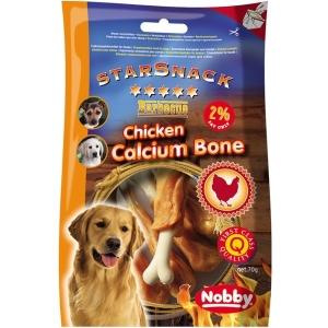 Nobby StarSnack Calcium Bone Деликатесно лакомство с пилешко месо - 70 гр. 1