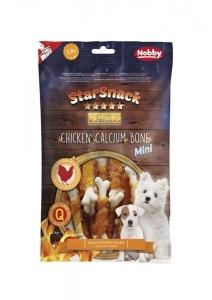 Nobby StarSnack Barbecue Chicken Calcium Bone Mini Деликатесно лакомство с пилешко, за малки породи - 113 гр.