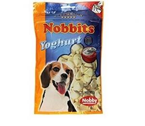 Nobby Nobbits Yoghurt Деликатесно лакомство за кучета с йогурт - 200 гр.