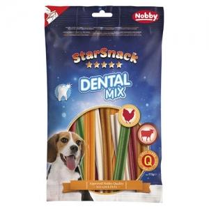 Nobby STARSNACK Dental Mix Дентално лакомство - 113 гр.