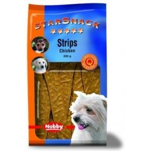 Nobby StarSnack Strips Chicken Деликатесно лакомство с пилешко месо - 200 гр.