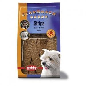 Nobby StarSnack Strips Beef Деликатесно лакомство с агнешко месо - 200 гр.