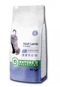 Nature's Protection Adult Lamb - суха храна за кучета в зряла възраст, с агнешко месо, 12 кг.
