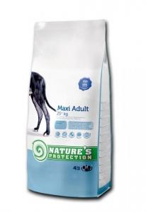 Nature's Protection Maxi Adult - суха храна за кучета от големите породи в зряла възраст, 12 кг.