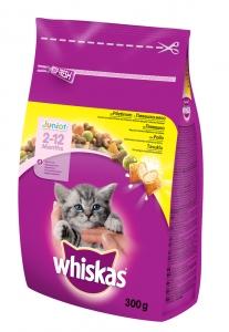 Whiskas Junior Chicken - с пилешко за котки до 1 година 0.300 г