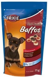 Trixie Лакомство за кучета - меки парченца с пилешко, агнешко и шкембе 75 гр.