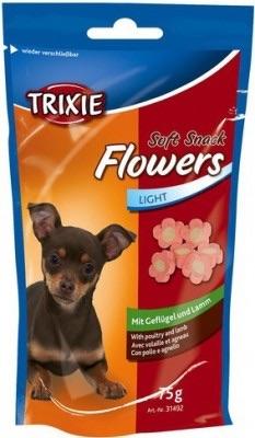 Trixie Лакомство за кучета - меки хапки цвете 75 гр.