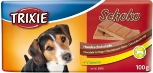 Trixie Лакомство за кучета - бял шоколад 100 гр.