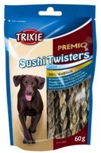 Trixie Лакомство за кучета - усукани пръчици суши 60гр.