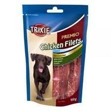 Trixie Лакомство за кучета - сушено пилешко филе 100гр.