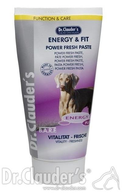 Dr. Clauder's - Energy & Fit Power Fresh Paste - Паста за повече енергия за кучета