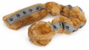 Dr. Clauder's Плюшена играчка за кучета - серпентина с топка