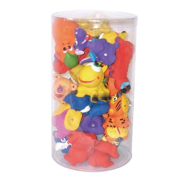Croci Latex Toys - Микс от латексови играчки за кучета 6/8 см