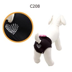 Camon Pants - Бански за кучета Черни