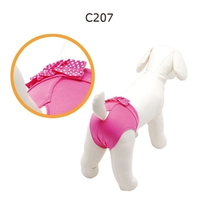 Camon Pants - Бански за кучета Розови