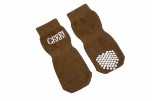 Camon Чорапки за кучета - Кафяви