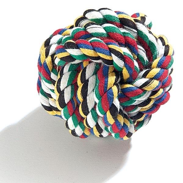 Camon Играчка за кучета - Топка с въже