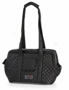 Camon Quilted - Транспортна чанта Черна 52 / 22 / 26 см