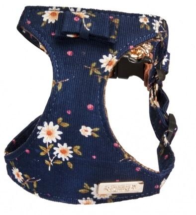 Camon Кучешки нагръдник Floral Blue