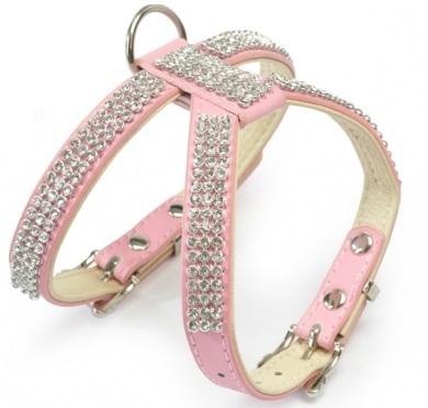 Camon Кучешки нагръдник Strass/Pink