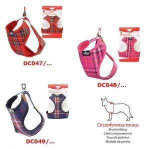 Camon Комплект повод + нагръдник за кучета Tartan