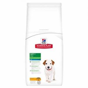 Hill's Science Plan Canine Puppy Mini с пилешко – Пълноценна суха храна за дребни породи кучета от отбиване до 1 година. За бременни и кърмещи кучета /с пилешко/. - 7.5 кг 1