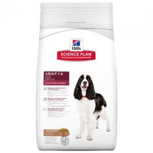 Hill's Science Plan Adult Advanced Fitness с агнешко и ориз – За кучета от дребни и средни породи с умерени енергийни нужди, 1-7 години 12 кг 1