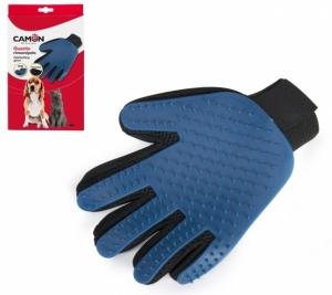 Camon Ръкавица за разресване на късокосмести кучета