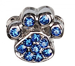 Camon Декоративна корона с форма на лапа Синя
