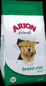 Arion Dog Friends Bravo Croc 24/10 - Суха храна за пораснали кучета от всички породи, 15 кг.
