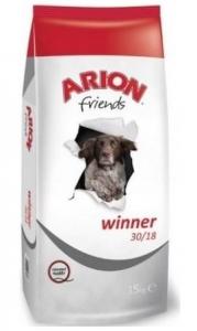 Arion Dog Friends Winner 30/18 - Суха храна за активни кучета от всички породи, 15 кг.