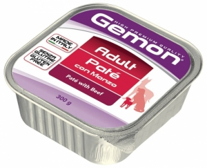 Gemon Beef Adult - Пастет с говеждо месо - опаковка 300 гр.