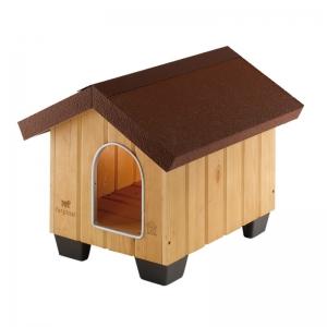 Ferplast Domus Maxi - дървена къщичка 111,5 / 132 / 103,5 cm 1