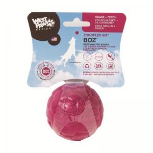Zogoflex Boz S - скачаща топка с меко ядро от пяна, за кучета които обичат да гонят, да хващат във въздуха и да дъвчат 6 см. / синя, червена, жълта / 1
