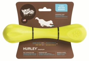 Zogoflex Hurley L - играчка за кучета които обичат да дъвчат и донасят 21 см. / синя, зелена, оранжева / 1